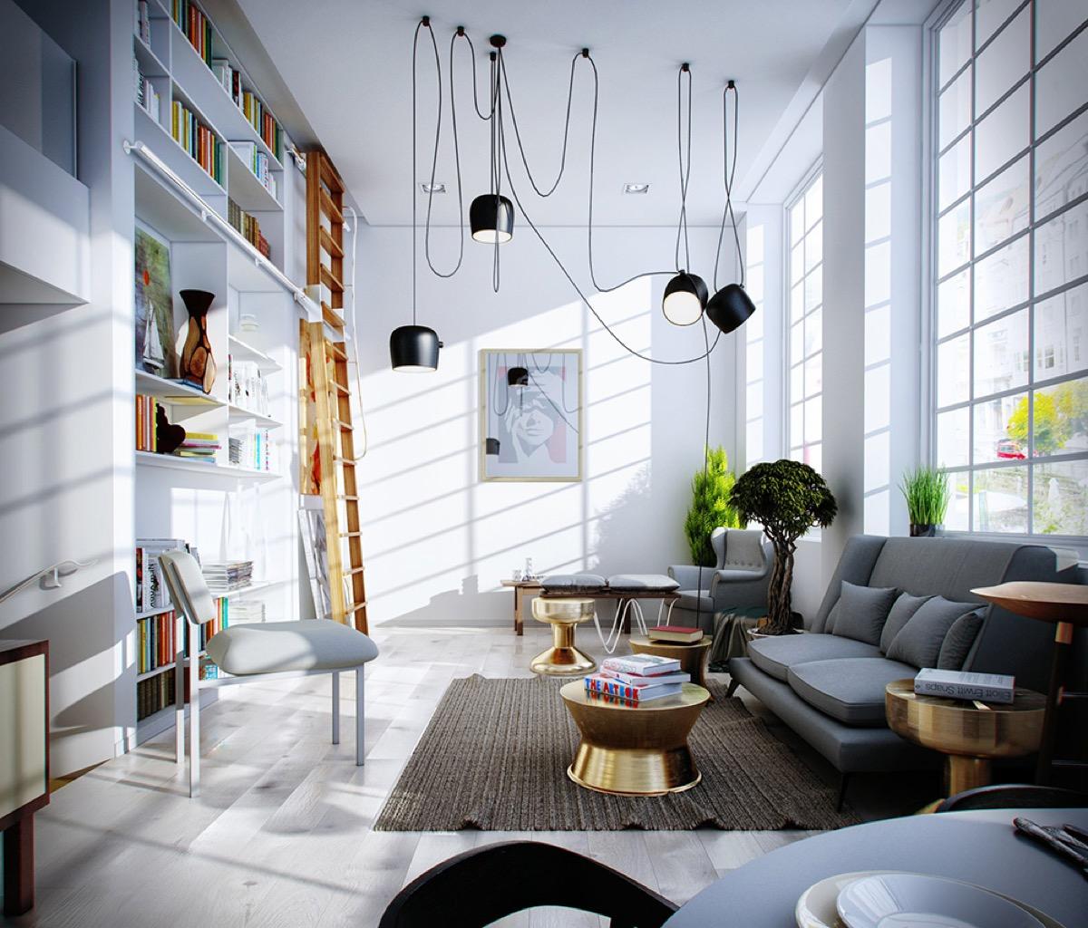 soggiorno-moderno-libreria