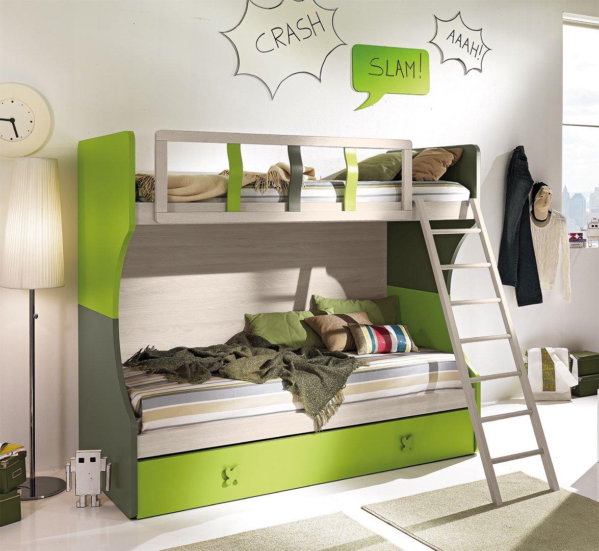 Soluzioni salvaspazio per camerette - Idee per camerette piccole ...