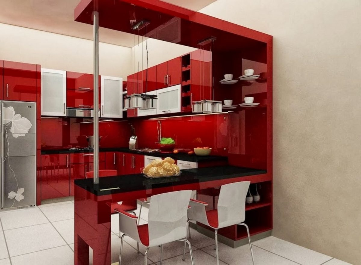 angolo-bar-cucina-rosso