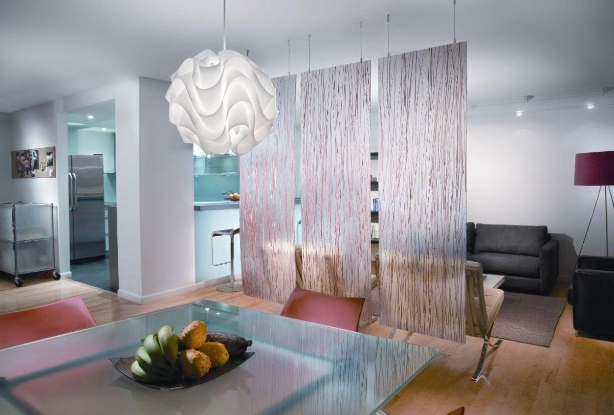 Dividere gli ambienti senza pareti for Divisori ambienti ikea