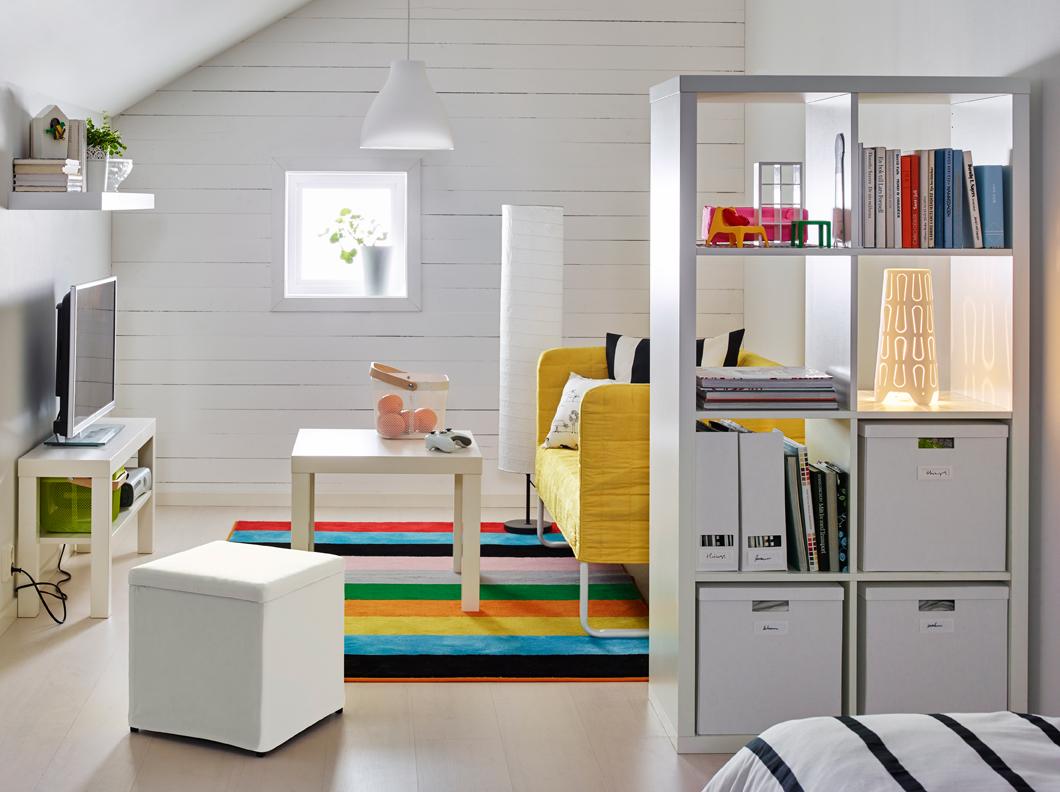 come-separare-stanze-senza-muro-piante-librerie