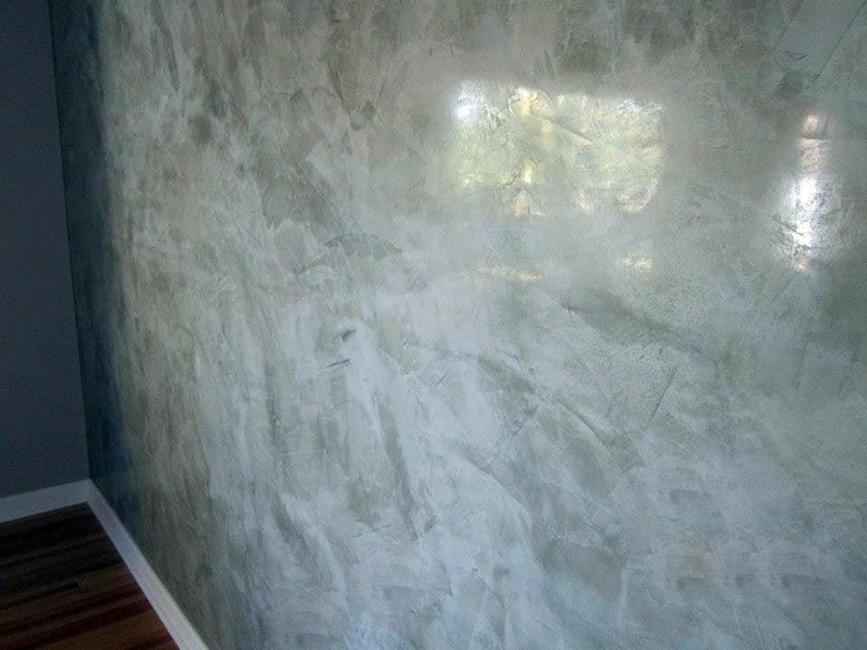 spatolato per pareti