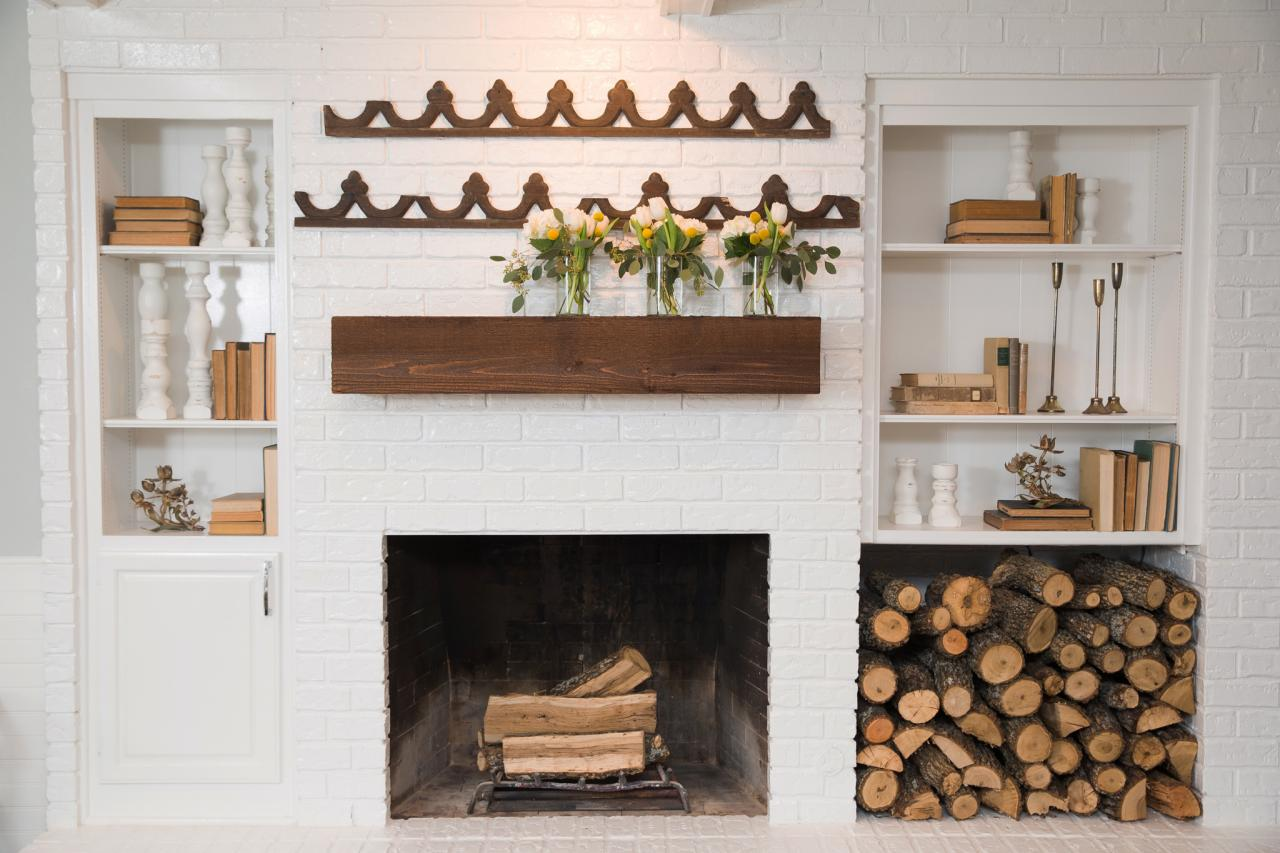 Idee Per Nicchie Nel Muro spazio per legna in casa