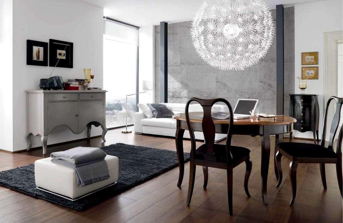 Stile liberty - Idee arredamento soggiorno moderno ...