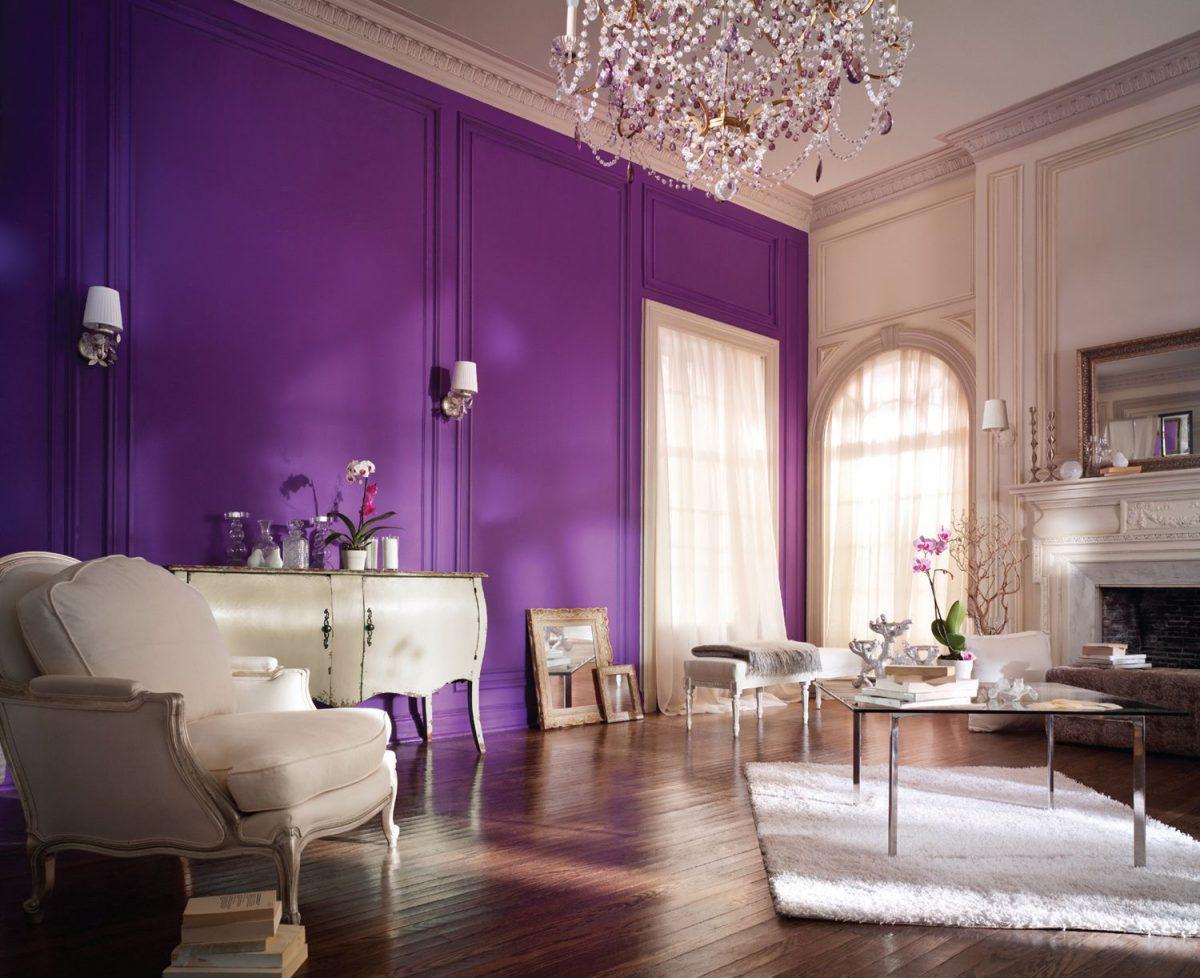 Pittura Stanza Da Letto colore viola