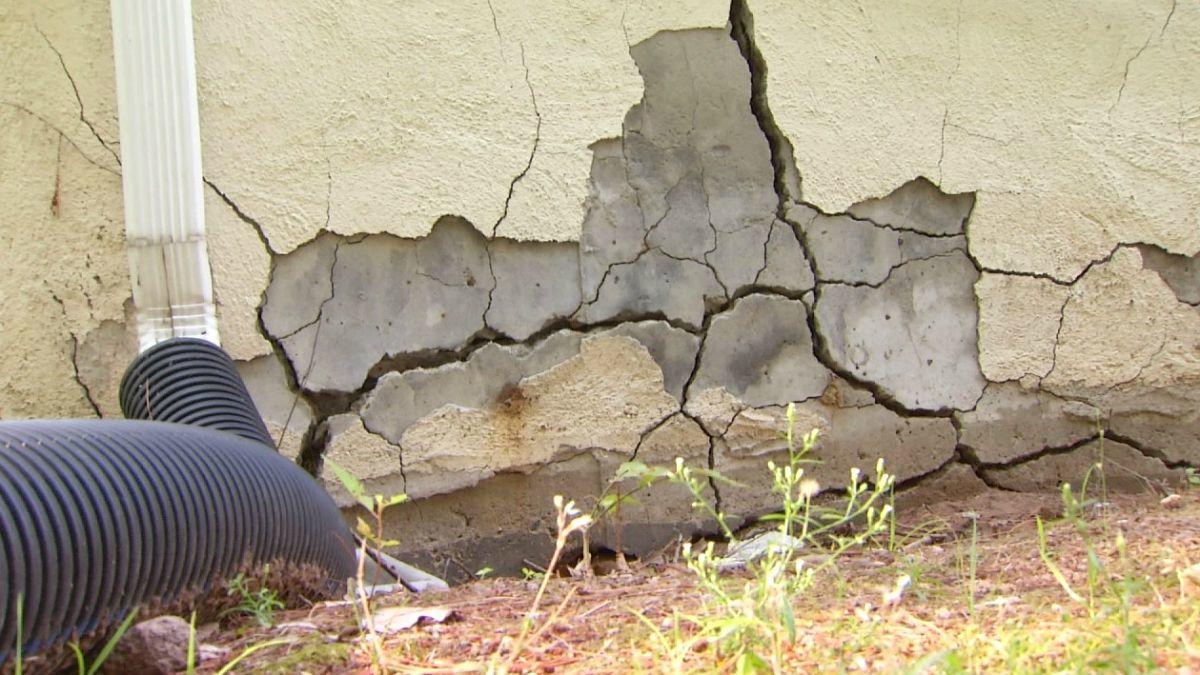 Crepe nei muri esterni: cosa fare