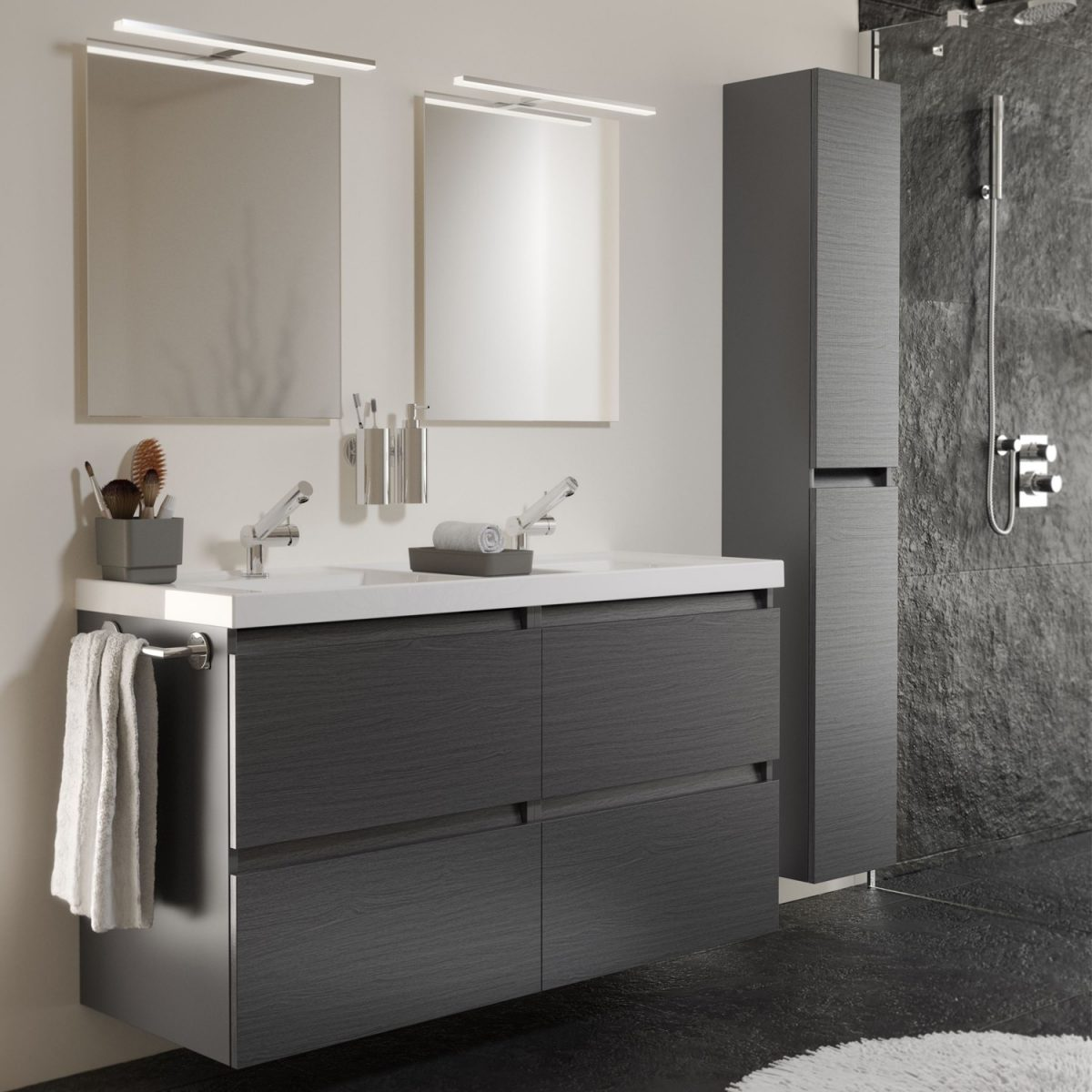 Mobile Bagno Lavandino Incasso mobili bagno sospesi