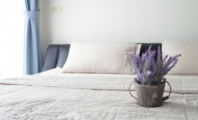 Pianta Camera Da Letto Ossigeno : Una camera da letto fresca ed estiva con un tocco vintage casafacile