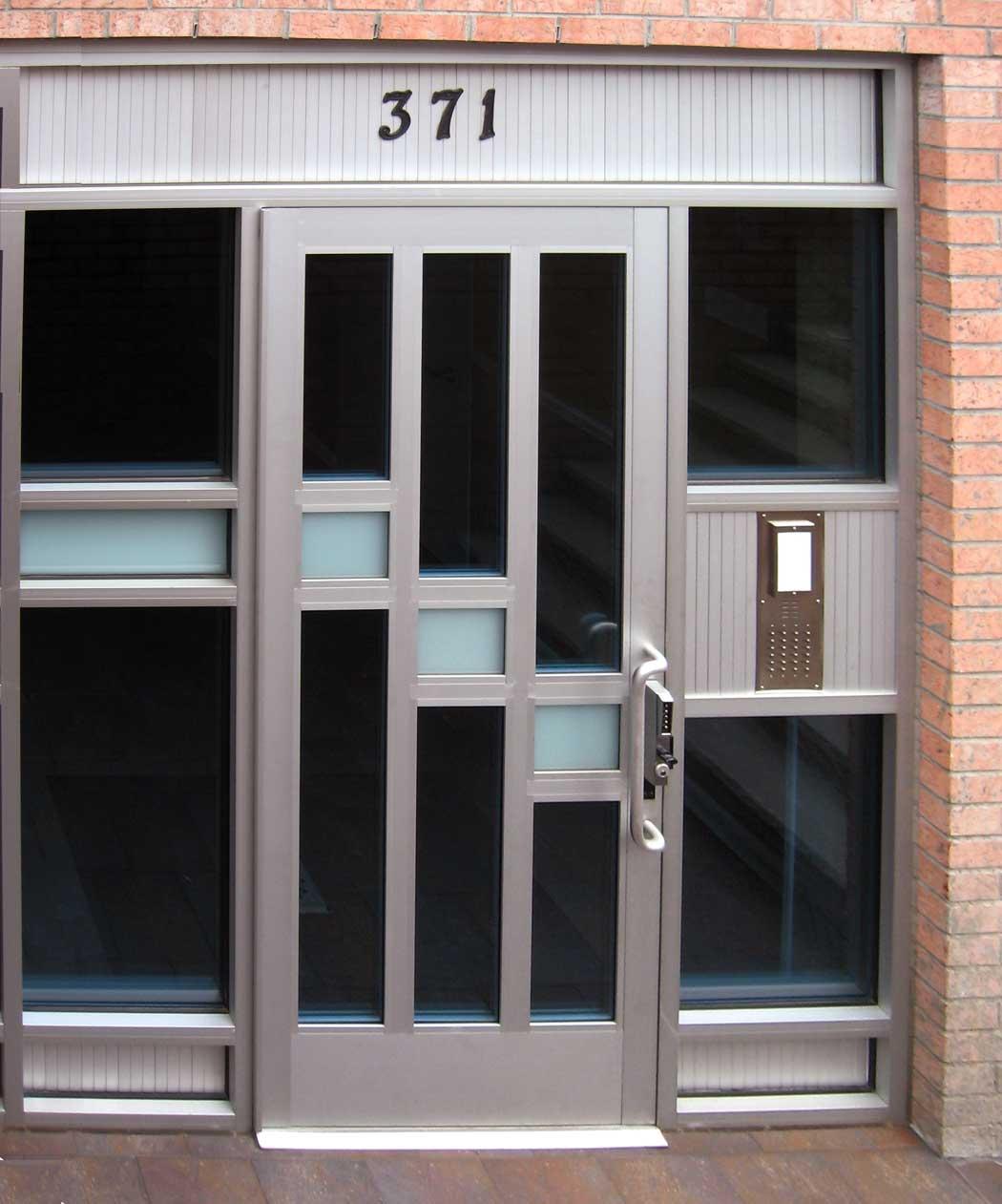 porta-ingresso-alluminio