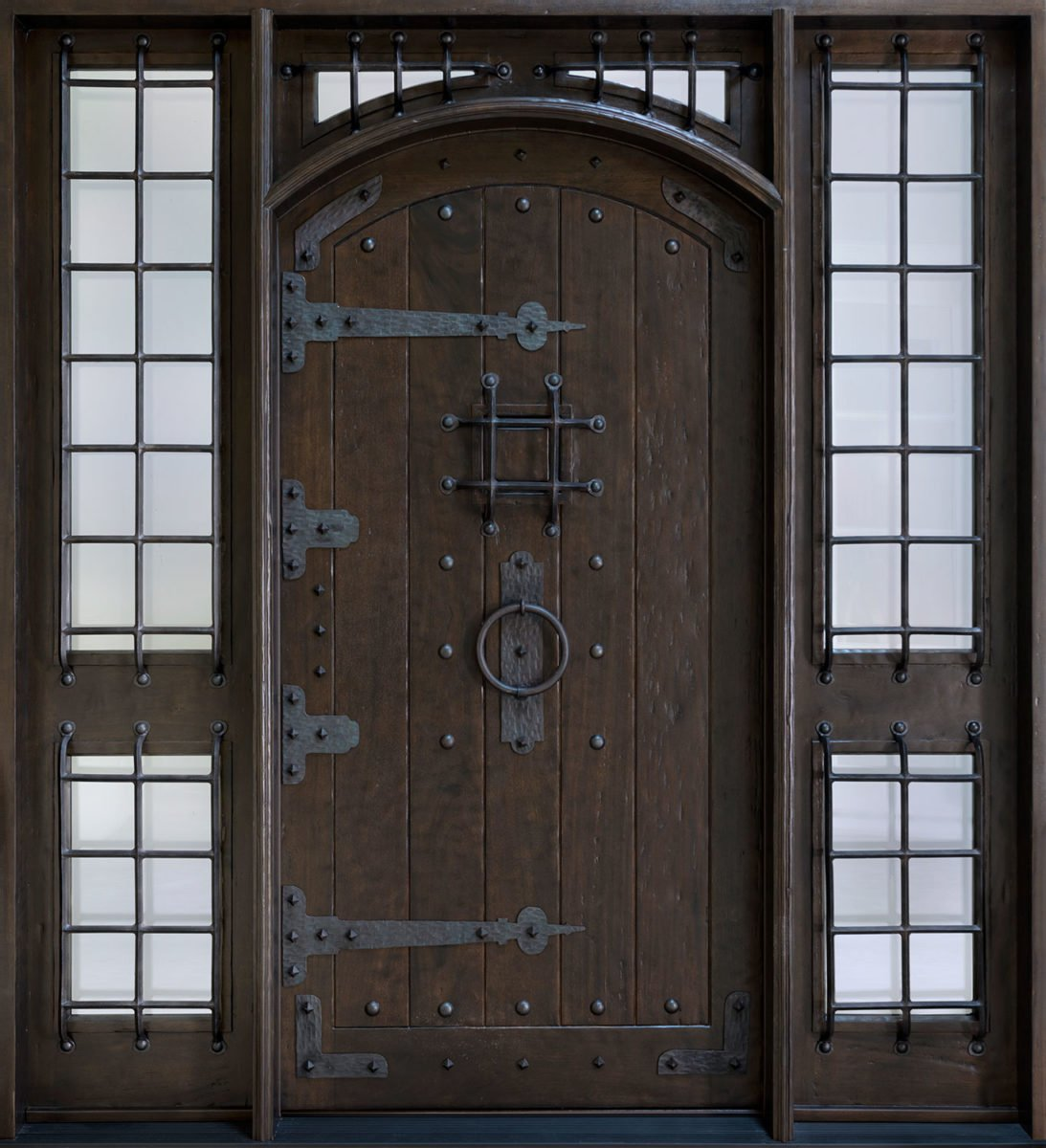 porta-ingresso-ferro-battuto