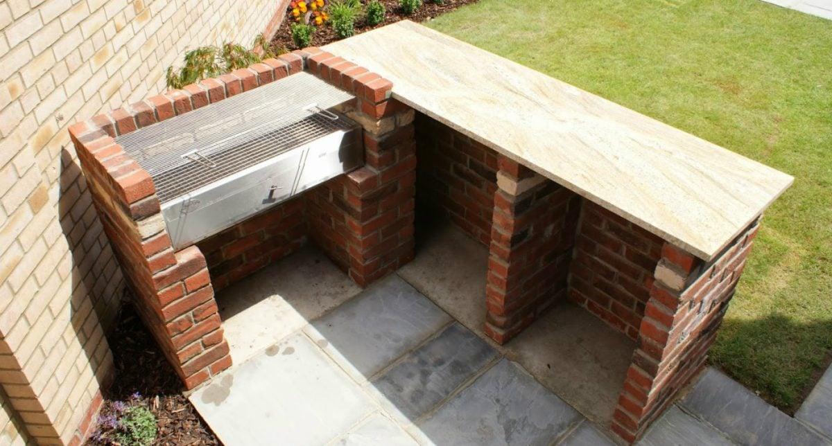 Barbecue da giardino for Barbecue in muratura fai da te