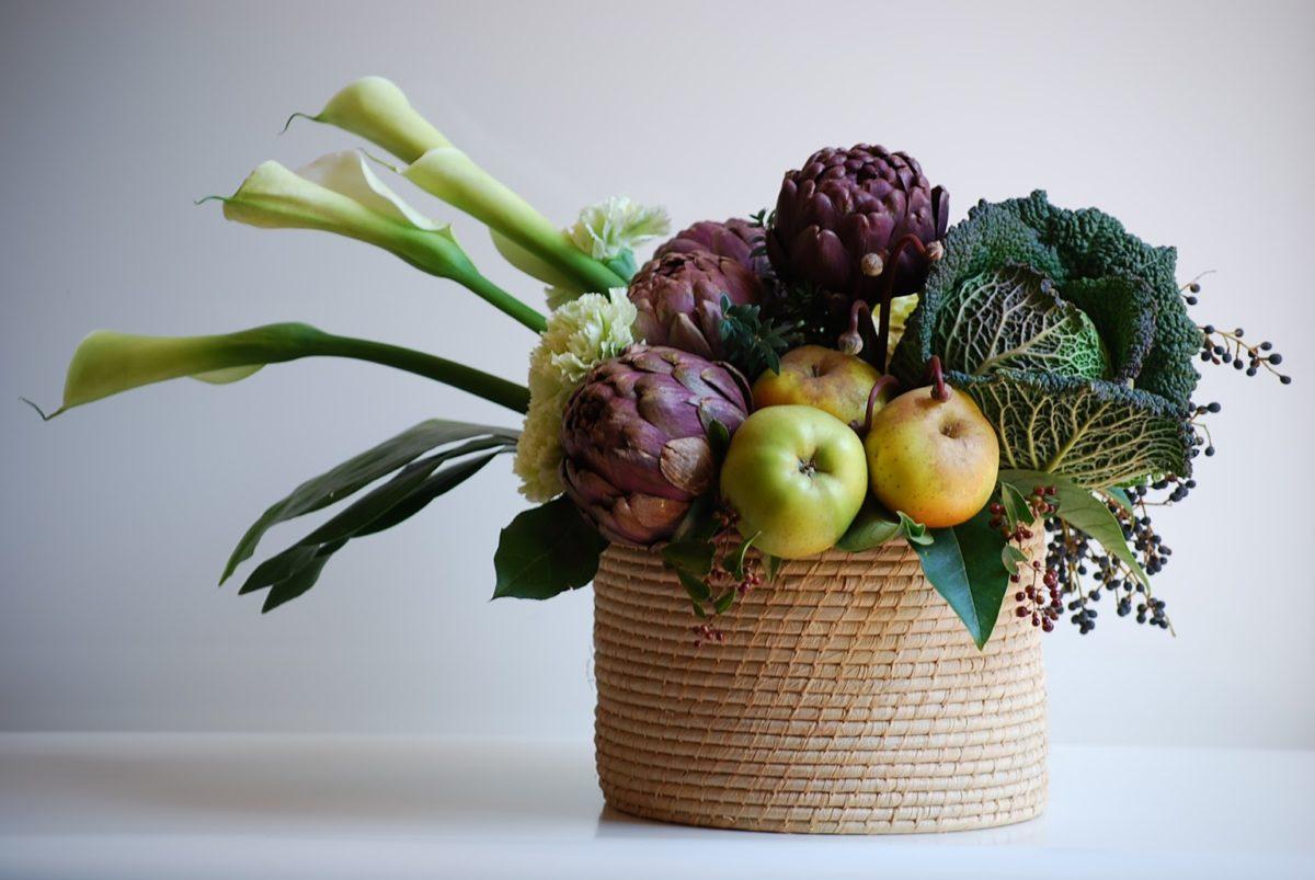 decorazione-frutta-verdura-tavola