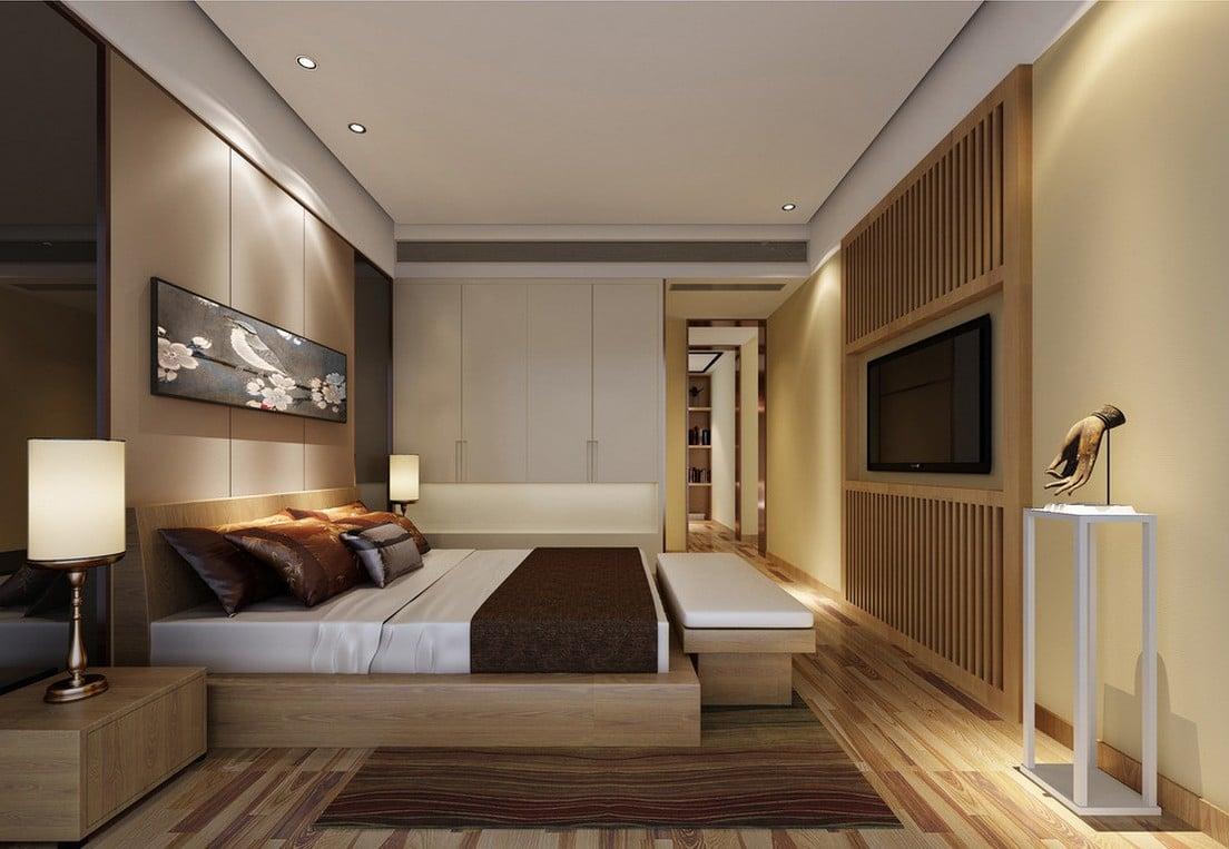 Ottimizzare spazio camera da letto - Camera da letto con tv ...