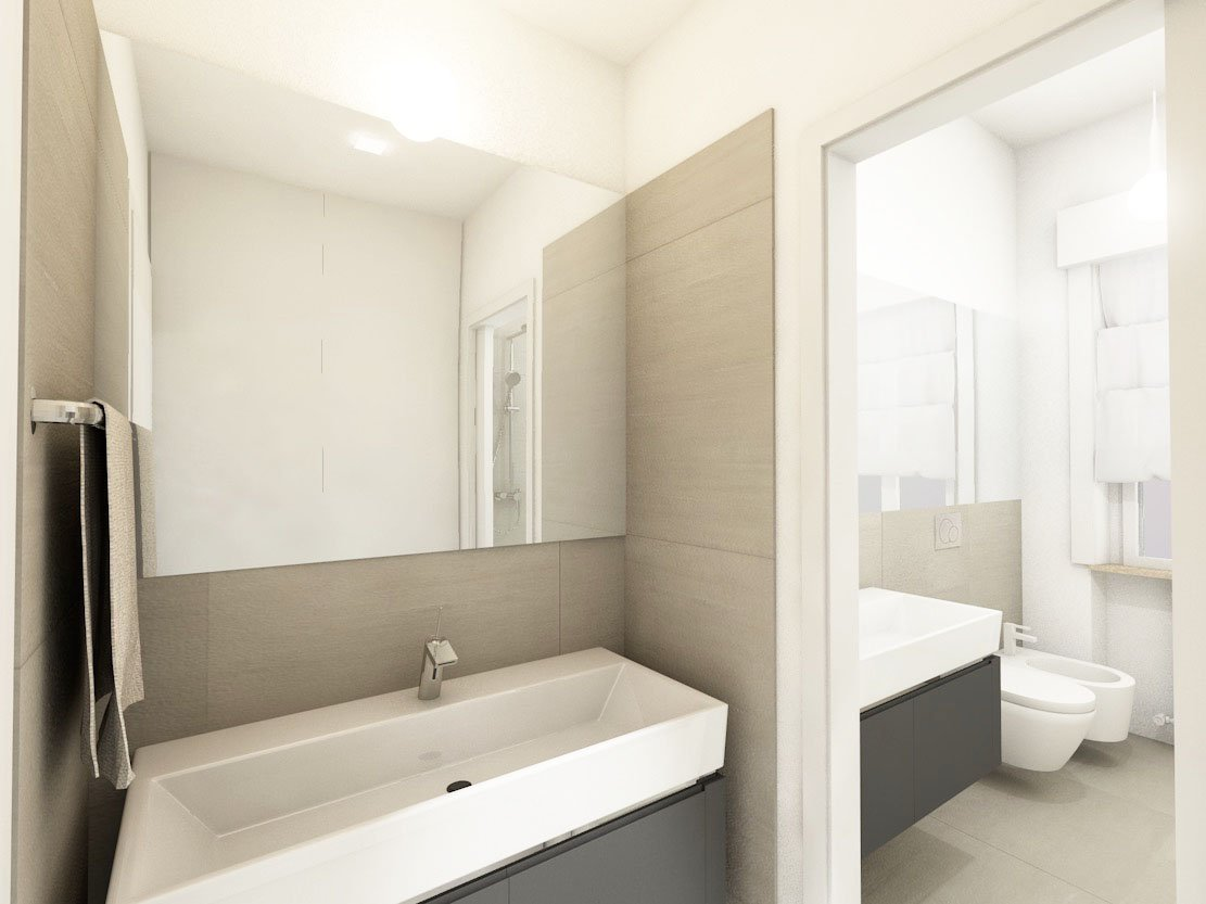 Ristrutturazione Di Un Piccolo Bagno : Come arredare un bagno piccolo quadrato