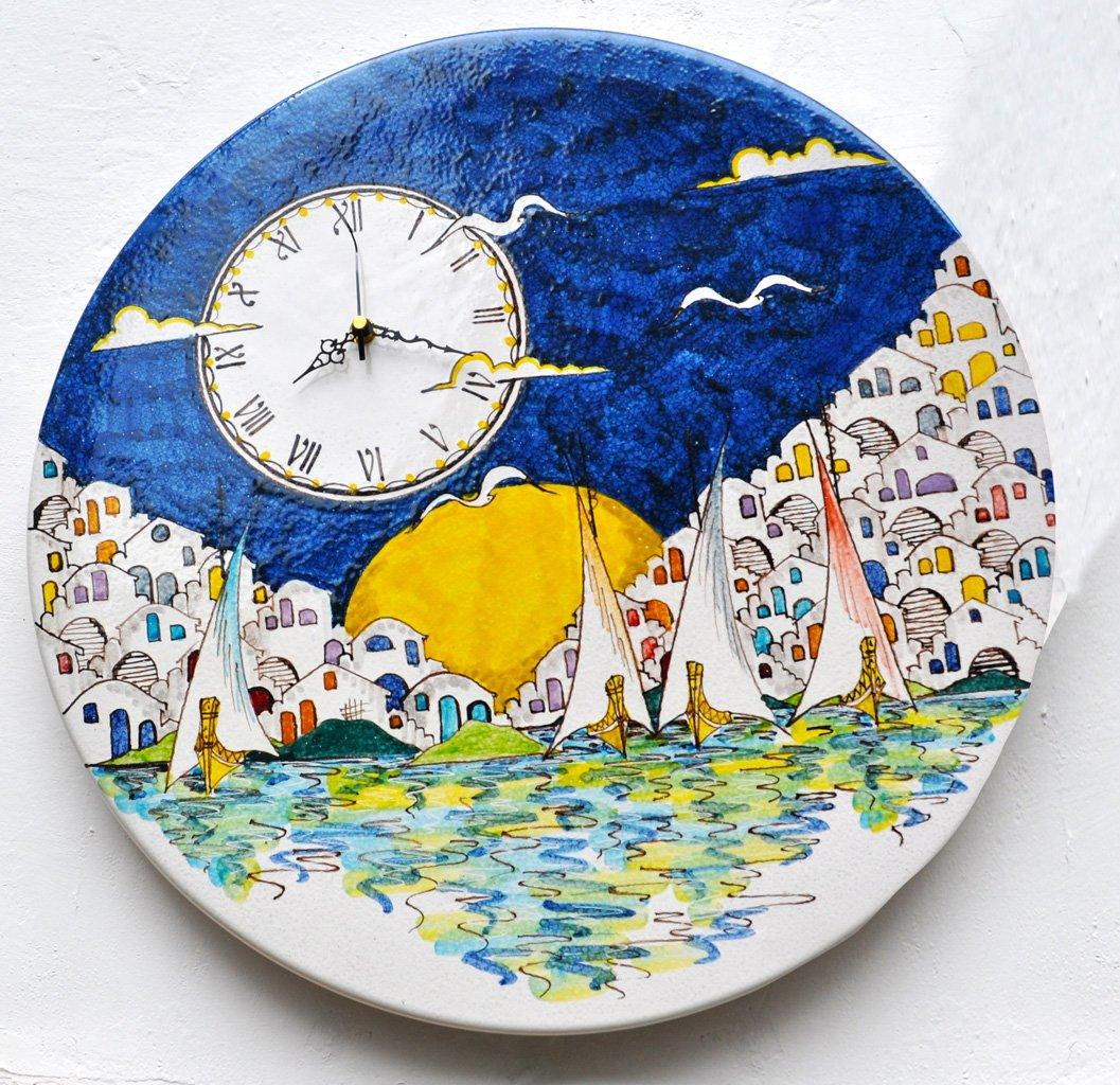 orologio-ceramica-vietrese