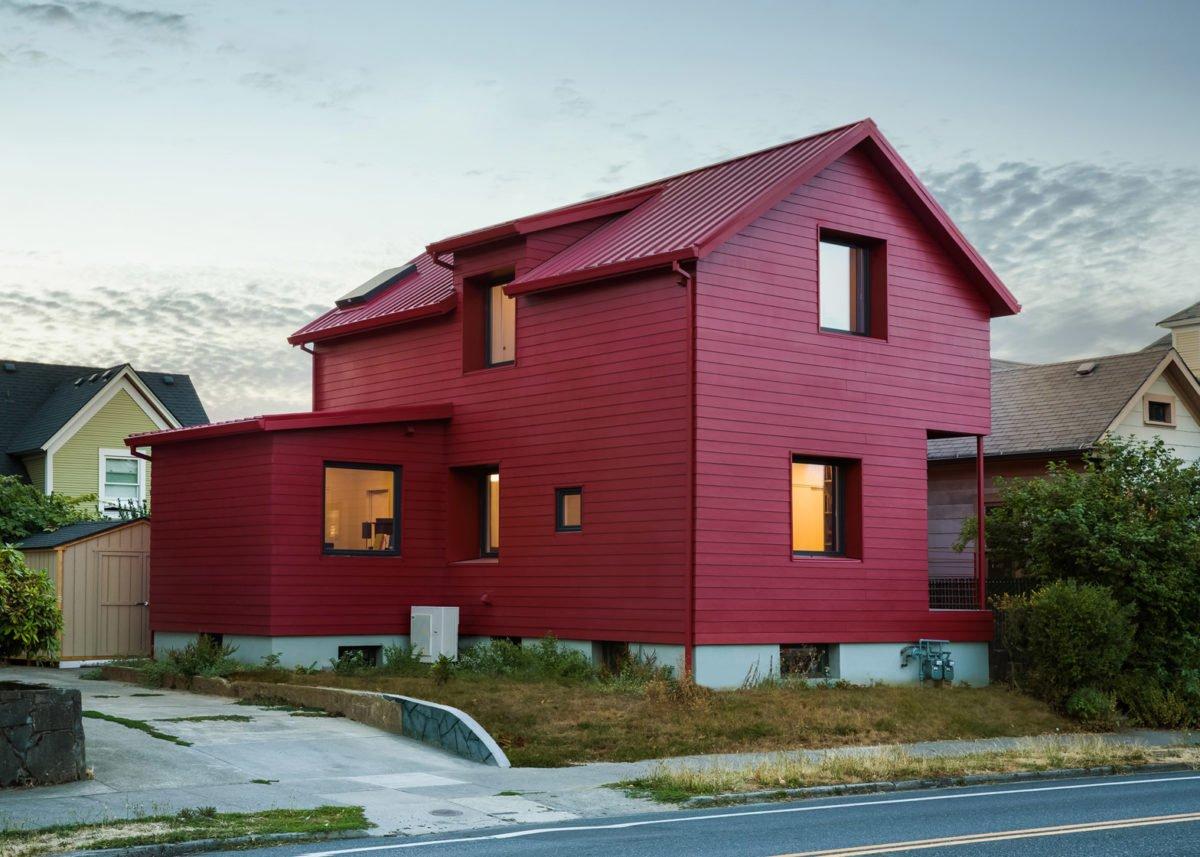 facciata-casa-moderna-rossa