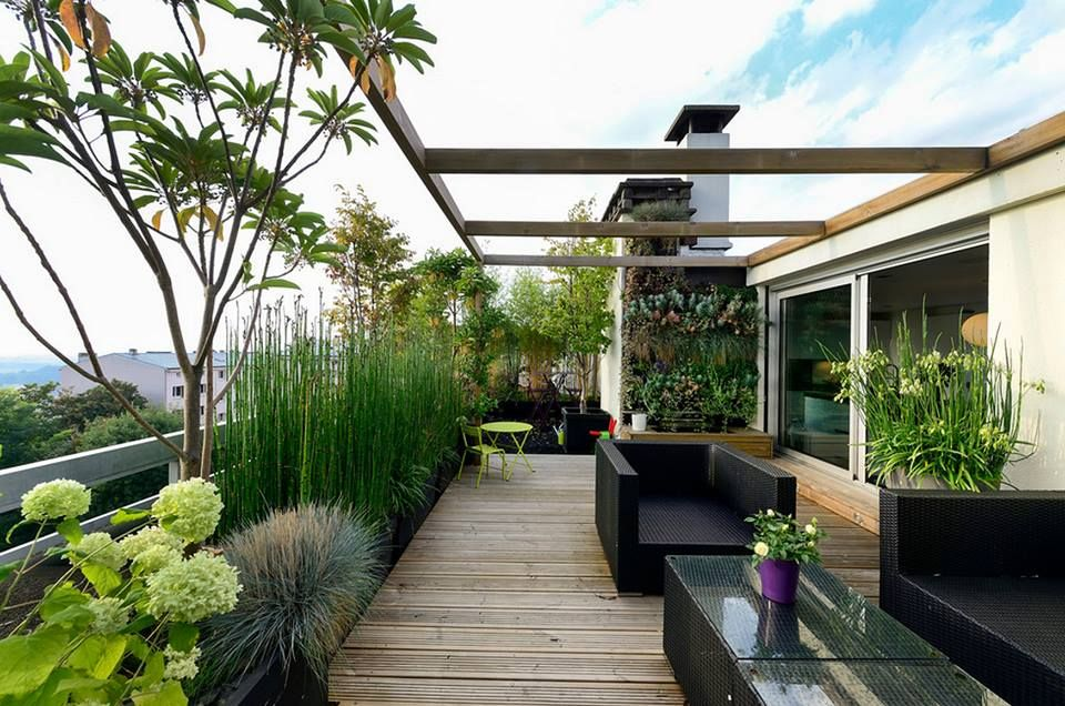 Giardino sul terrazzo