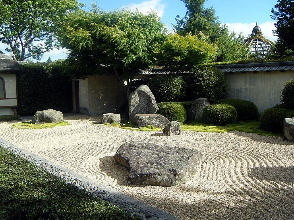 Giardino Zen Pistoia : Giardino zen