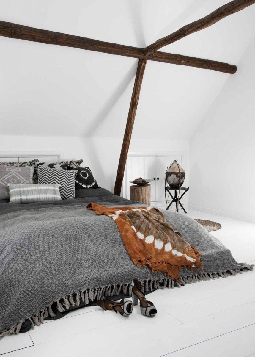 stile-etnico-chic-letto-struttura