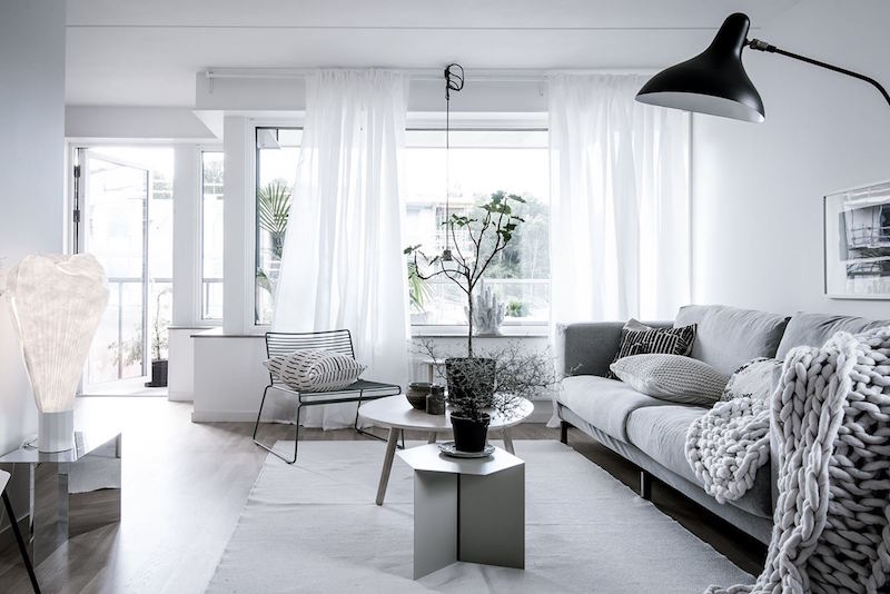 stile minimal chic casa arredo