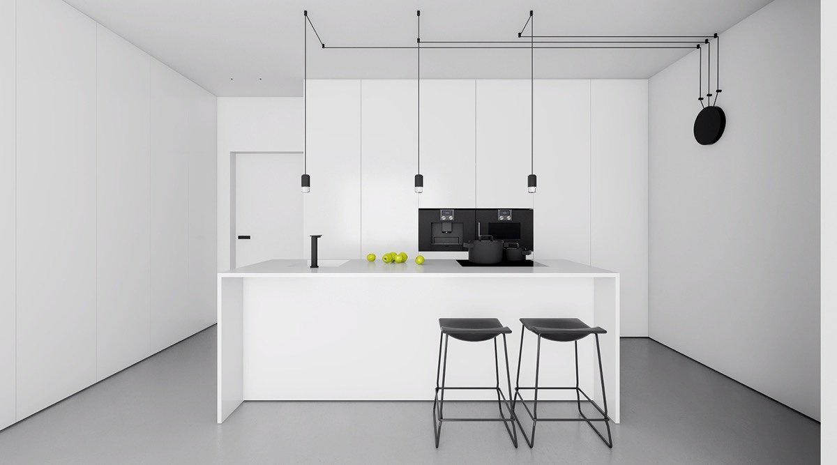 stile-minimal-chic-cucina