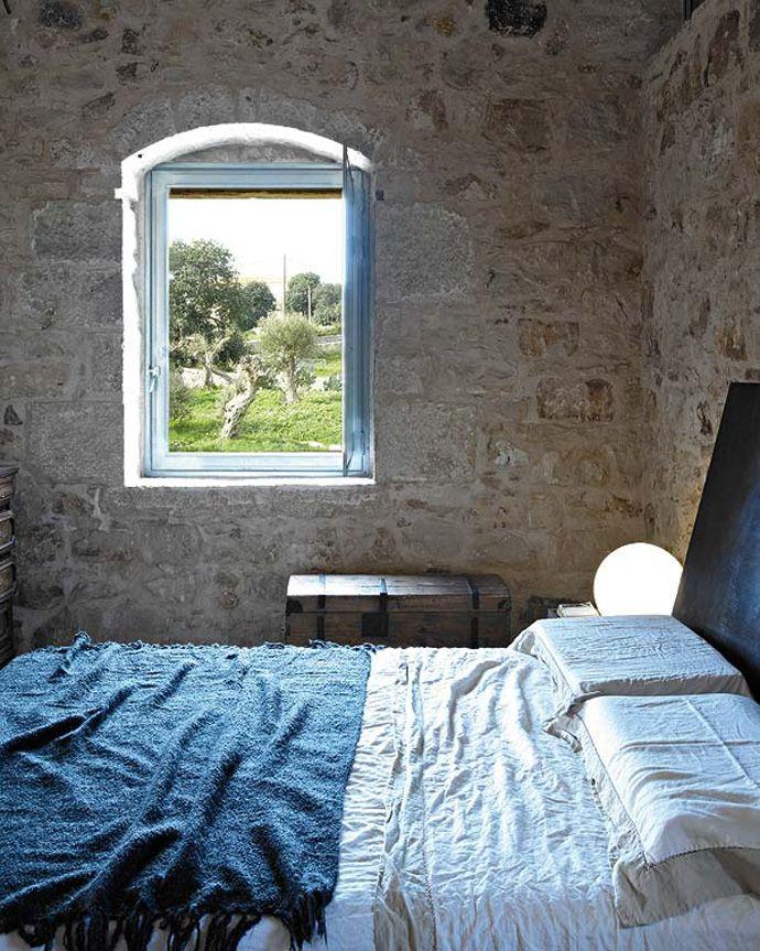 stile-siciliano-camera-letto
