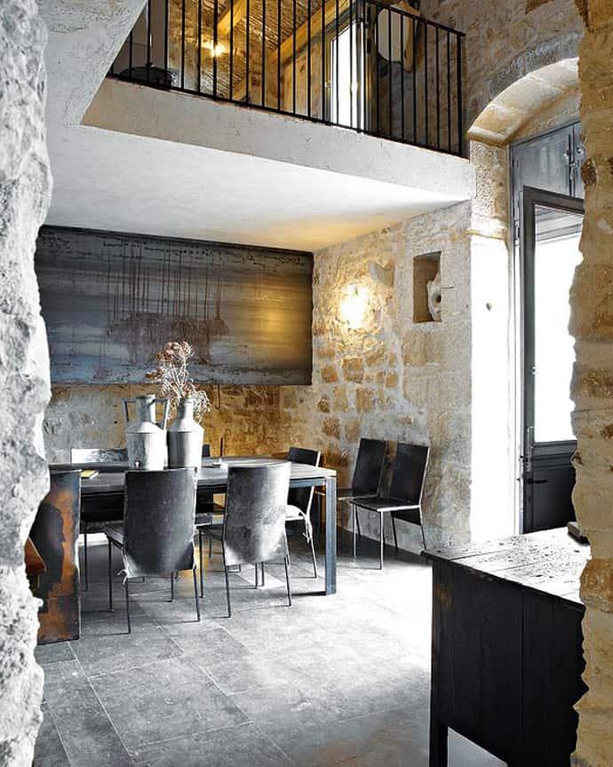 stile-siciliano-cucina-muro