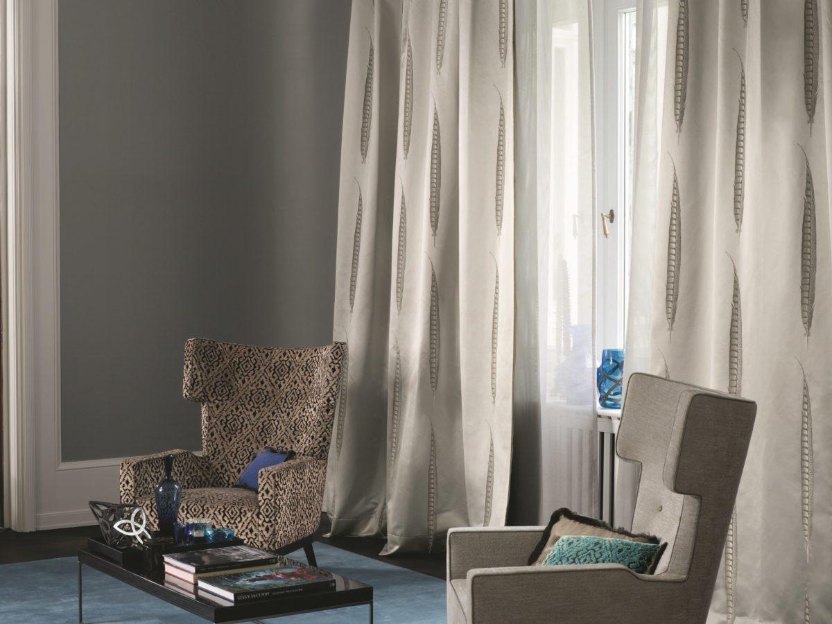 Tende soggiorno for Tipos de cortinas para salon