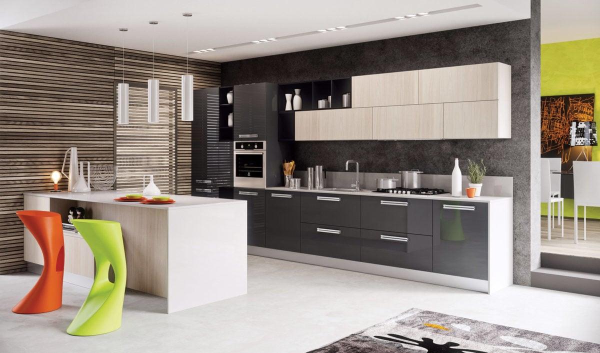 Colore perfetto per le pareti della cucina
