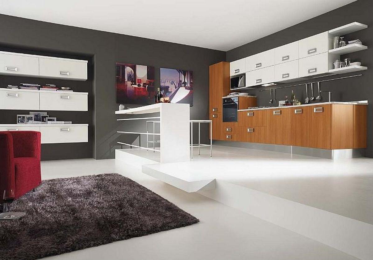 Colore pareti cucina for Decorazioni pareti cucina