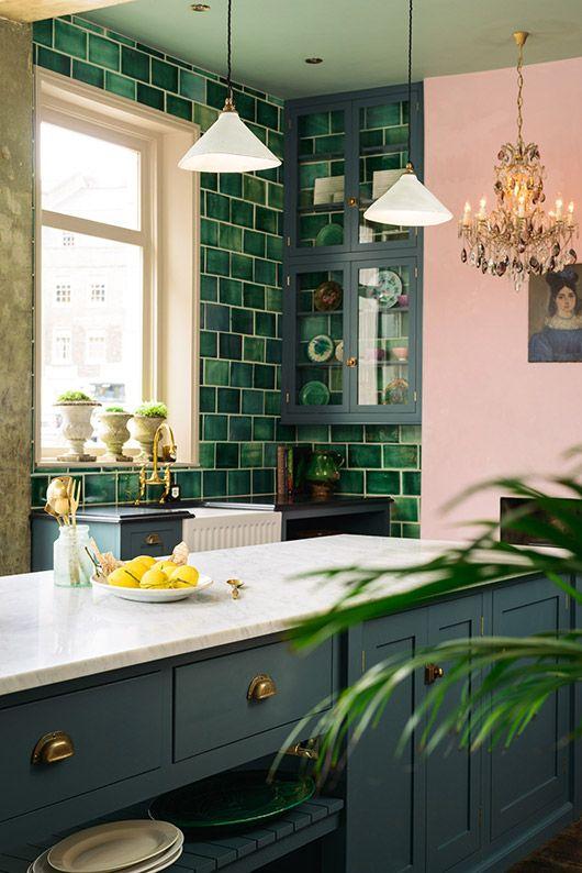 colore-verde-inglese-cucina-angolo