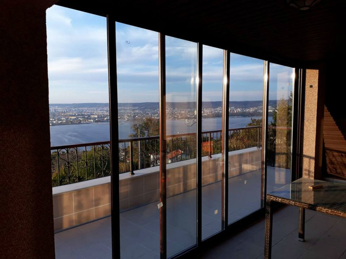 Cambiare Colore Infissi Alluminio finestre scorrevoli