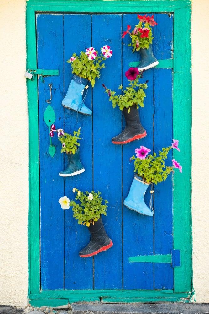 fioriere-stivali