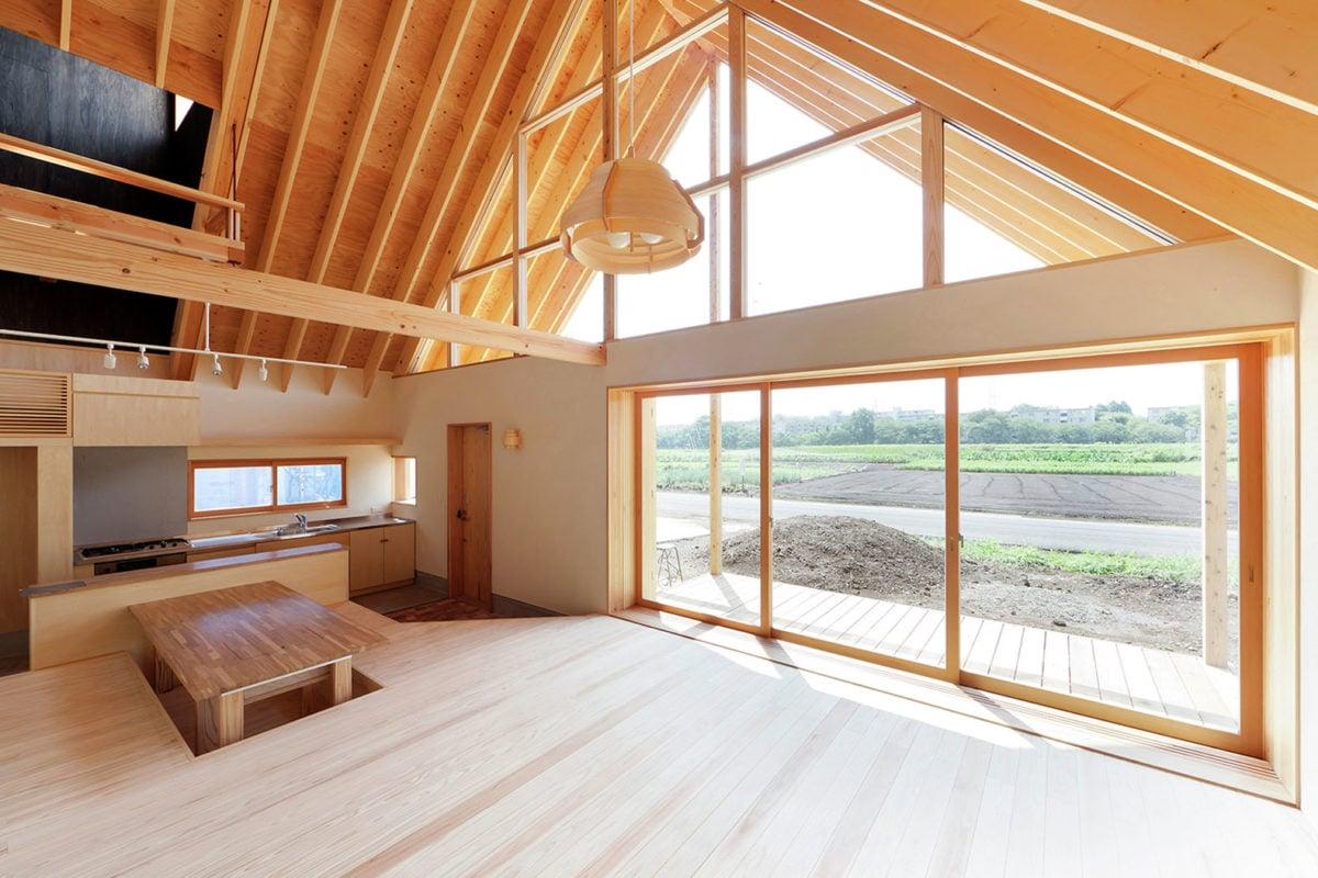 Soffitto In Legno Lamellare : Tetto in legno