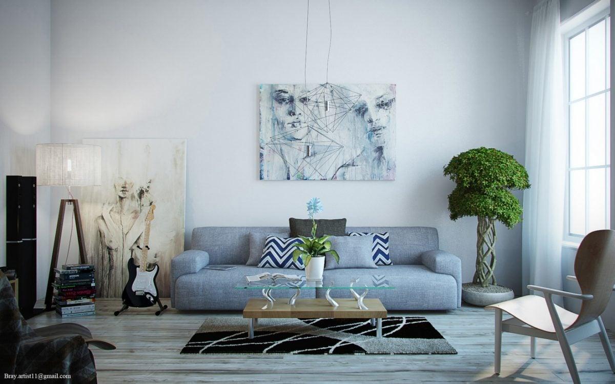 Soggiorno Con Divano Grigio Scuro colori pareti soggiorno dal classico al moderno