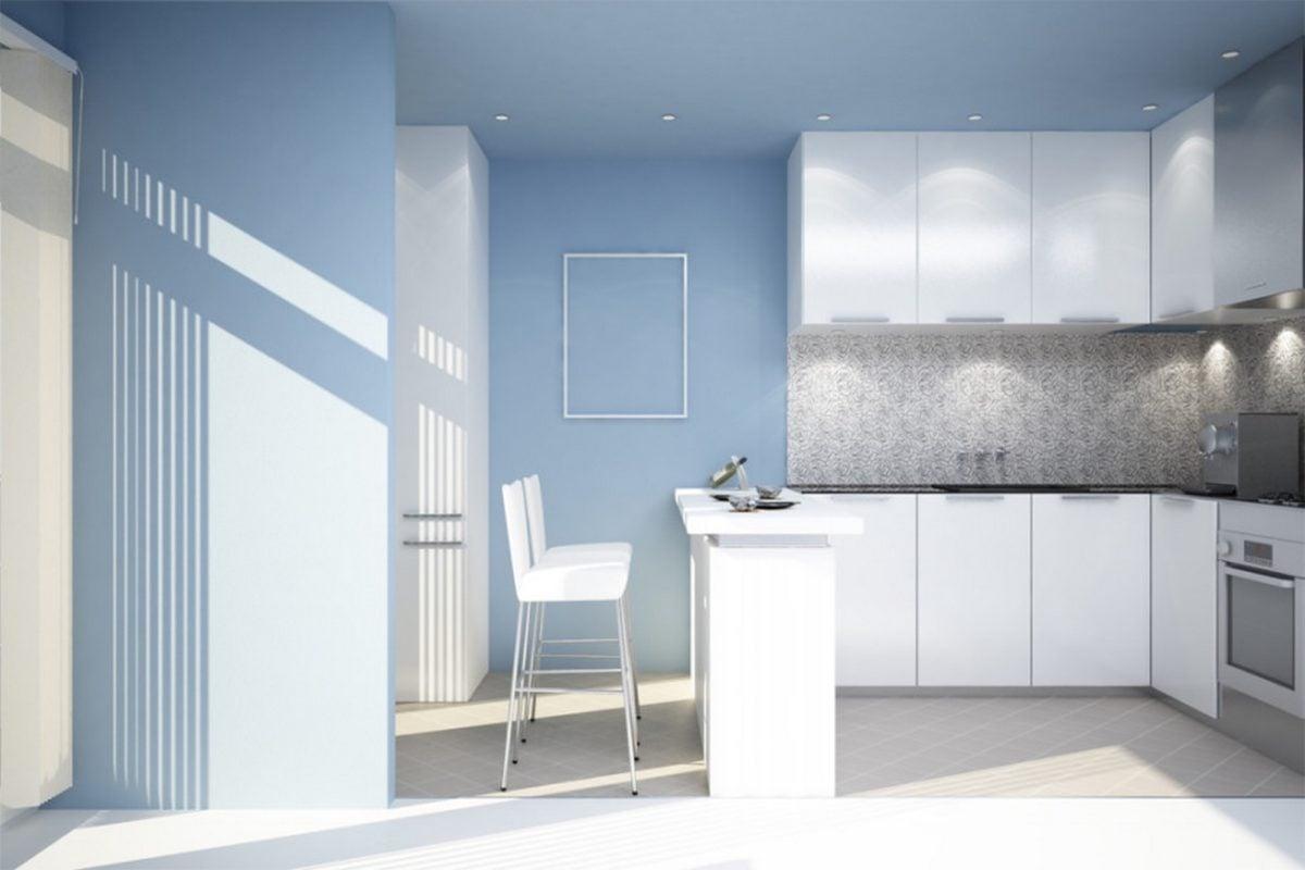 cucina-moderna-azzurra-