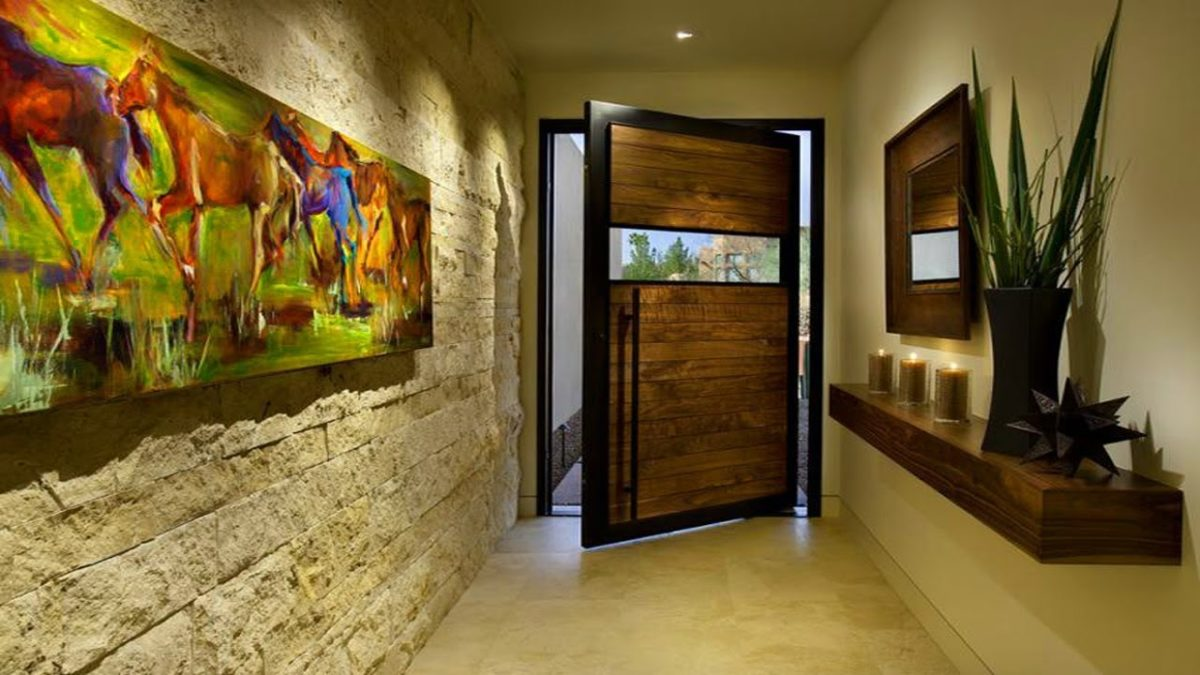 Come abbellire ingresso di casa - Illuminazione ingresso casa ...