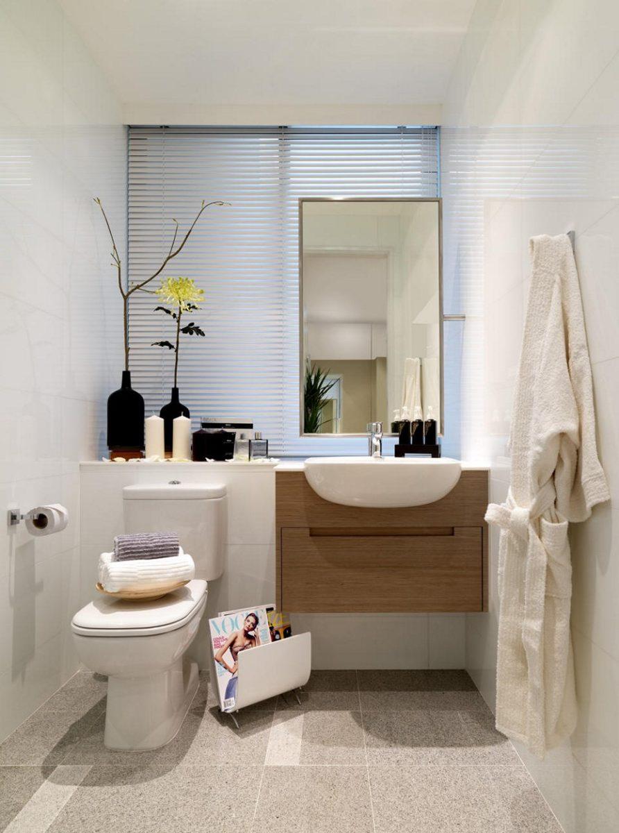 Come arredare un bagno piccolo rettangolare for Arredare un bagno piccolo