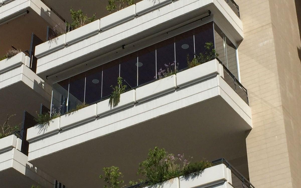 Come chiudere un balcone