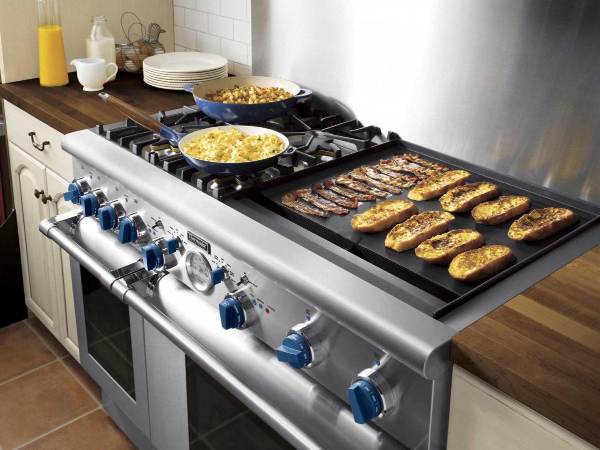 Cucina professionale in casa