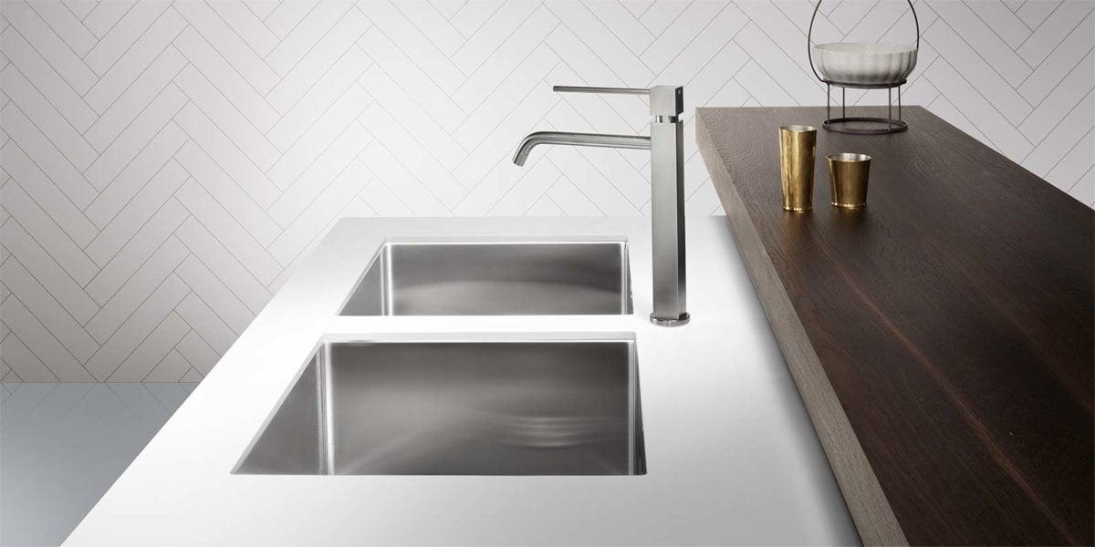 Lavello cucina una vasca perfect lavello su mobile con - Lavandino cucina una vasca ...