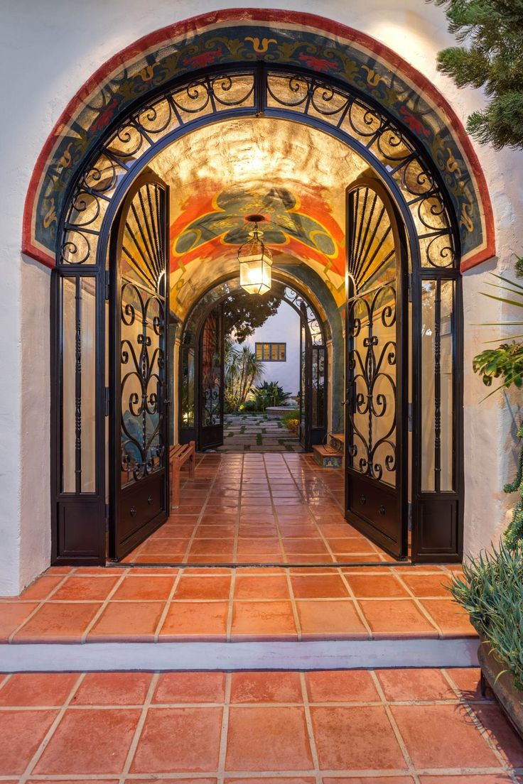 stile-messicano-interno-ingresso