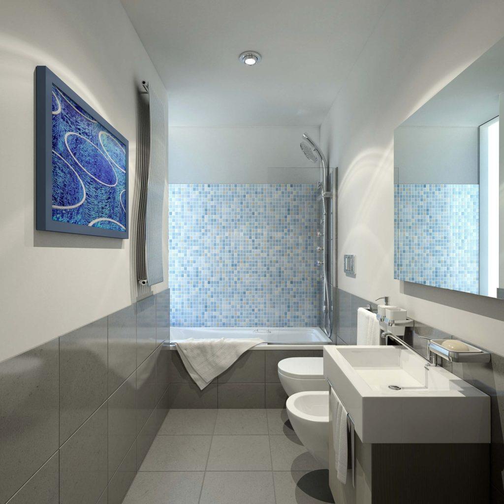 Progetto Bagno 3 Mq come arredare un bagno piccolo rettangolare