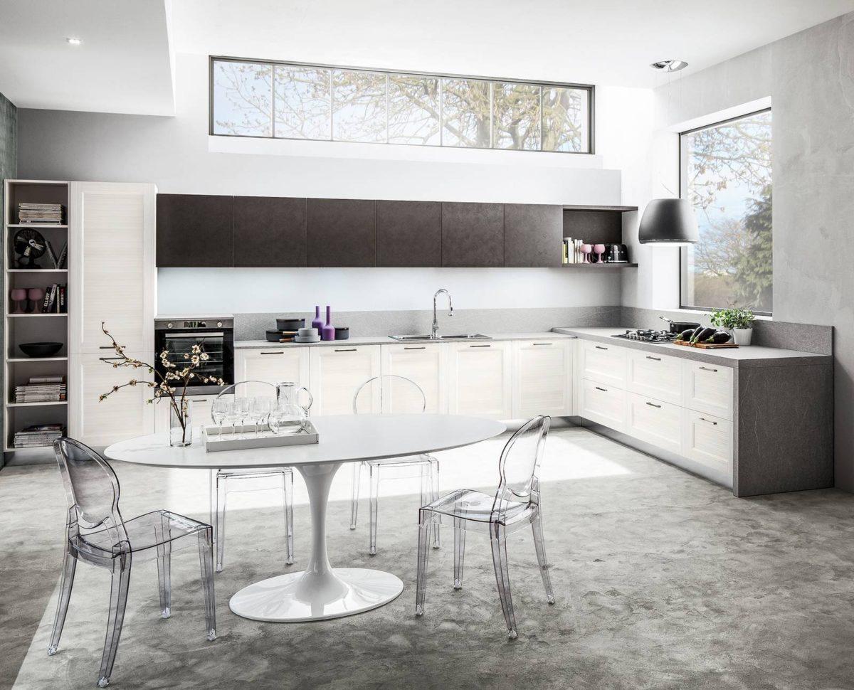 Progettare ed arredare una cucina ad angolo da sogno