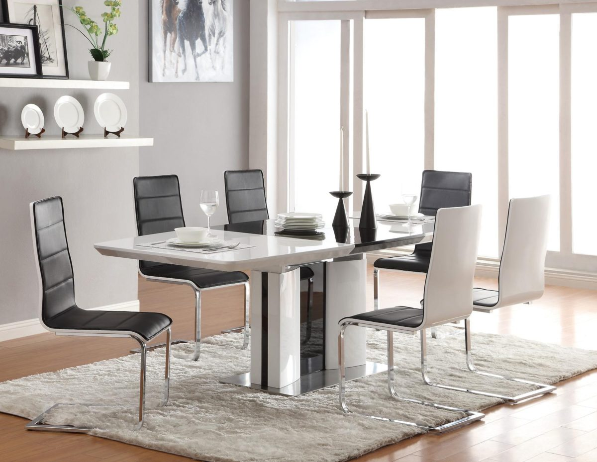 Come arredare sala da pranzo moderna idee for Sala da pranzo foto