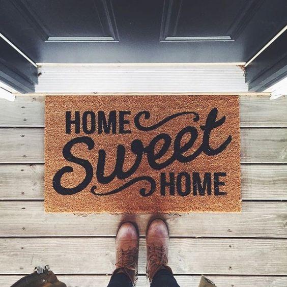 Tappeti e zerbini per ingresso di casa