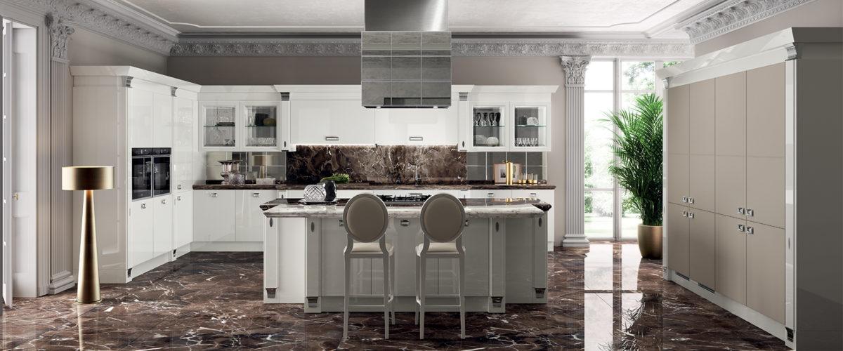 Cucine scavolini catalogo 2019 - Cucina laccato bianco ...