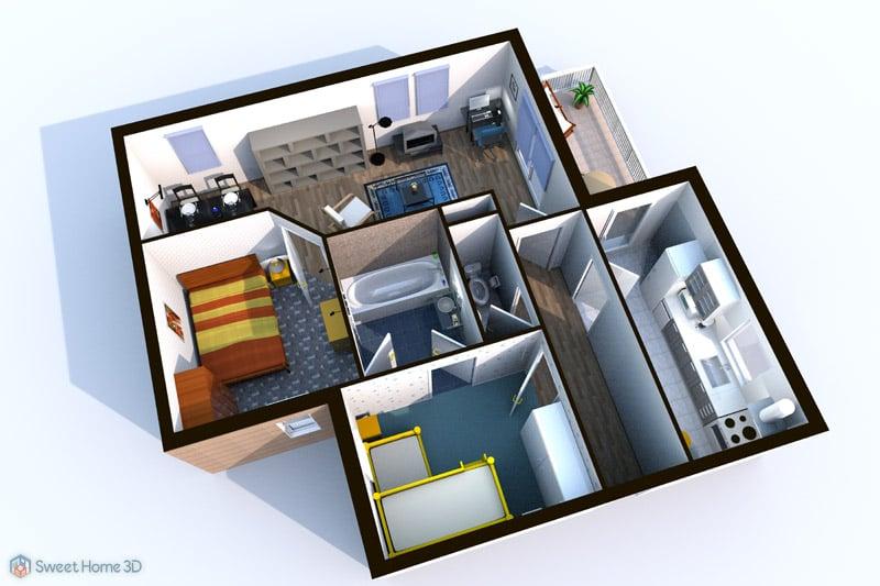 Arredare e progettare casa in 3d programmi semplici for Progettare casa 3d
