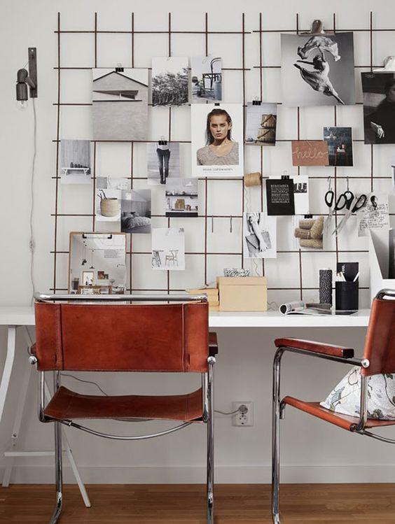 abbellire-scrivania-parete-foto