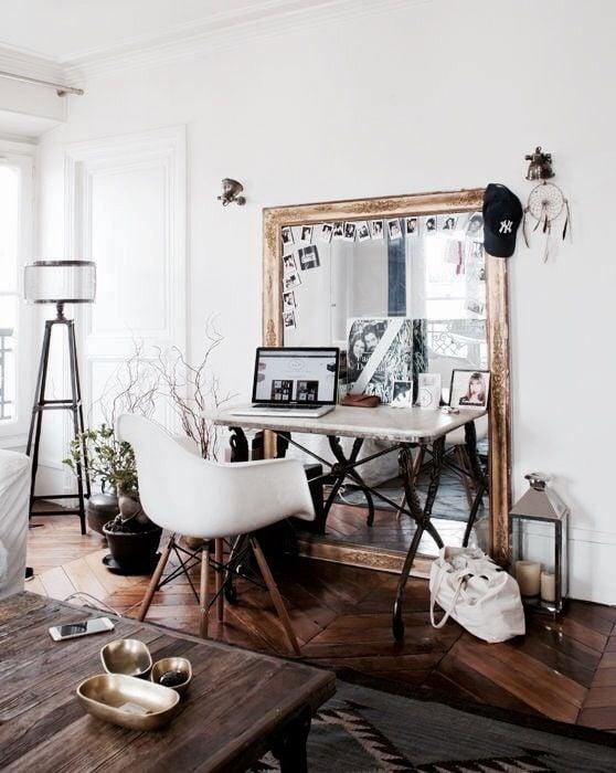 abbellire-scrivania-specchi